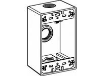 Orbit 1B75-3-BR 1-G BOX 4 3/4^ OUTLETS W/ LUGS - BRONZE
