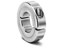 Climax Metal H1C-225 2 1/4^ ID Large Steel Split Shaft Collar