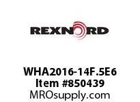REXNORD WHA2016-14F.5E6 WHA2016-14 F.5 T6P N1.33 WHA2016 14 INCH WIDE MATTOP CHAIN W