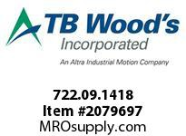 TBWOODS 722.09.1418 MULTI-BEAM 09 3MM--4MM