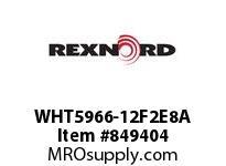 REXNORD WHT5966-12F2E8A WHT5966-12 F2 T8P N1.25 WHT5966 12 INCH WIDE MATTOP CHAIN W