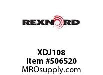 XDJ108 FLANGE CARTRIDGE BLK W/ND 6801498