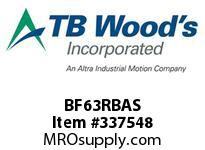 TBWOODS BF63RBAS BF63 STD HUB RB CL A