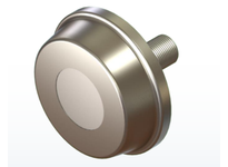 PCI CIRE-3.00E CHANNEL I BEAM ROLLER STUD STYLE BEARING CHANNEL IBEAM ECCENTRIC EXTRA CAPACITY 3.00 DIAMETER
