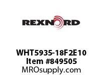 REXNORD WHT5935-18F2E10 WHT5935-18 F2 T10P WHT5935-18 MATTOP CHAIN WITH A F2 I