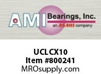 AMI UCLCX10 50MM MEDIUM SET SCREW ROUND CARTRID BEARING