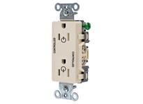 HBL_WDK DR15C2LA 2/2 CONTROLLED 15A 125V B/S DECO LA