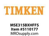 TIMKEN MSE315BXHFFS Split CRB Housed Unit Assembly