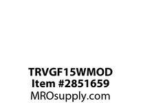 CPR-WDK TRVGF15WMOD GFCI TR Deco Duplex 15A 125V MOD WH