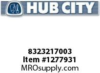 HubCity 8323217003 BEARING THRUST NTA-1220 OR EQ