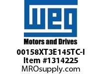 WEG 00158XT3E145TC-I 1.5HP 1800 60 208-230/460 XP - Nema Pr