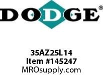 DODGE 35AZ25L14 TIGEAR-2 E-Z KLEEN REDUCER