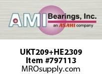 AMI UKT209+HE2309 1-1/2 NORMAL WIDE ADAPTER TAKE-UP BALL BEARING