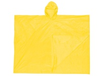 MCR O40 Schooner .10mm PVC Disposable Poncho Single Ply Yellow