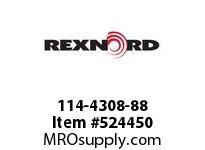 REXNORD 114-4308-88 KU1500-32T 50MM IDLER SP 156745
