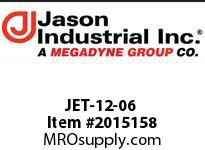 Jason JET-12-06 METRIC PIPE END