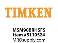 TIMKEN MSM90BRHSFS Split CRB Housed Unit Assembly