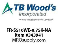 TBWOODS FR-S510WE-0.75K-NA INVERTER SUB-MICRO 1HP 110V