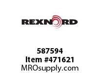 REXNORD 172289 587594 350.S71-8.CMBR C=7.00