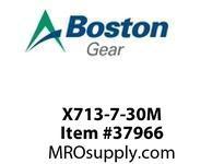 BOSTON 53654 X713-7-30M 713 I/P S/A RED 30:1