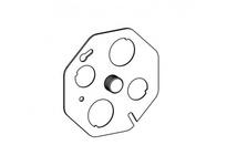 Orbit CB-BK-STUD 4^ OCT. CONCRETE BOX COVER W/ 3/8^ STUD