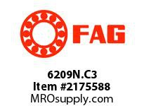 FAG 6209N.C3 RADIAL DEEP GROOVE BALL BEARINGS
