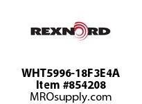 REXNORD WHT5996-18F3E4A WHT5996-18 F3 T4P N2 WHT5996 18 INCH WIDE MATTOP CHAIN W