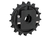 614-190-16 NS8500-25T Thermoplastic Split Sprocket TEETH: 25 BORE: 1 Inch Stock Size