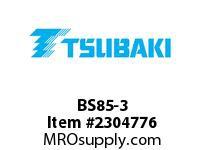 """US Tsubaki BS85-3 Cam-Backstop BS85 3.000"""""""