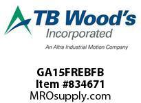 TBWOODS GA15FREBFB HUB GA12 EB RIGID FB