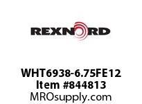 REXNORD WHT6938-6.75FE12 WHT6938-6.75 F.75 T12P WHT6938 6.75 INCH WIDE MATTOP CHAIN