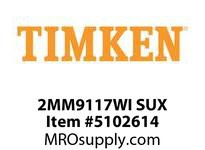 TIMKEN 2MM9117WI SUX Ball P4S Super Precision