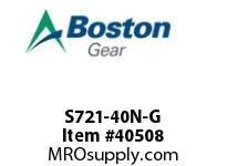 S721-40N-G CENTER DISTANCE: 2.1 INCH RATIO: 40:1OUTPUT SHAFT: LEFT SIDE