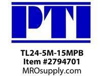 PTI TL24-5M-15MPB HTD PLAIN BORE PULLEY P1- HTD TIMING PULLEYS