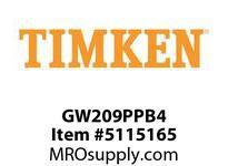 TIMKEN GW209PPB4 Ball Deep Groove Radial <12 OD