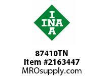 INA 87410TN Thrust roller bearing