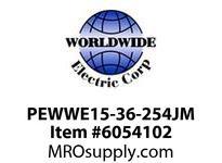 PEWWE15-36-254JM