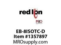 EB-8ISOTC-M ETRK2 I/Ow/8INS AI+POEno