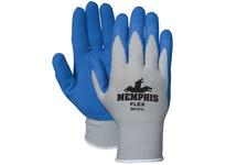 MCR 96731L Memphis Flex 13 Gauge Gray Shell Blue Foam Latex