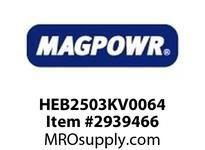 MagPowr HEB2503KV0064 HEB-250 PNEUMATIC BRAKE