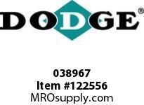 DODGE 038967 LD-45X24-TUFR-SSS