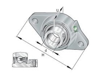INA PCJT55 Two-bolt flanged unit