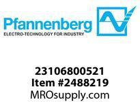 Pfannenberg 23106800521 DS 5 -TAV 24V DC LSR Sounder