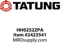 Tatung HH0252ZPA 25 HP 3600 RPM 284VP FRAME NEMA Premium 31 F/L AMPS 91.7 NOM>3 TEFC VSS High Thrust P Based 60hz 2