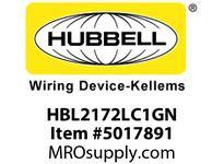 HBL_WDK HBL2172LC1GN LOAD CTRL HGR SPLT CIRC 15A 5-15R GN