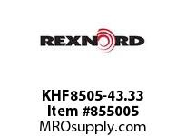 REXNORD KHF8505-43.33 KHF8505-43.33 KHF8505 43.33 INCH WIDE RUBBERTOP M