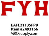 FYH EAFL21135FP9 2 3/16 ND EC 2B (NARROW-WITH) RE-LUBE