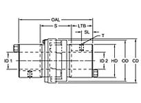 RRC226 HUB ADAPT 7/8 RSB BLKOX