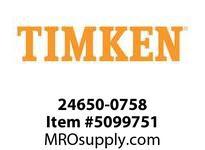 TIMKEN 24650-0758 Seals Hi-Performance <8