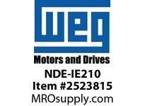 WEG NDE-IE210 NON-DRIVE ENDSHIELD IEEE841 21 Integrals
